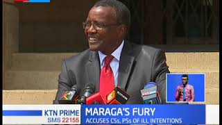 Maraga demands respect by State officers