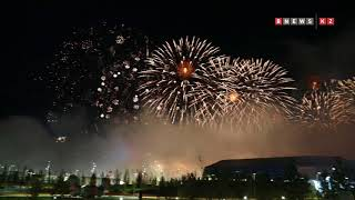 Салют в честь завершения ЭКСПО-2017 прогремел в Астане