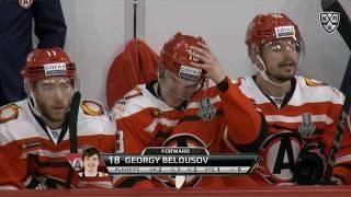 Белоусов забивает первый гол в плей-офф в карьере