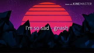 I'm So Sad   Gnash