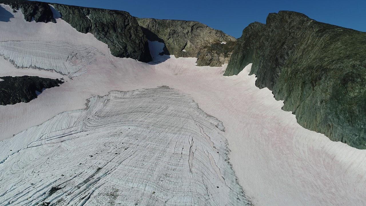 Ледник ИГАН, Полярный Урал, август 2018 г.