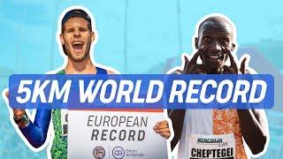 Joshua CHEPTEGEI - World Record Monaco 5km Herculis - 12:51