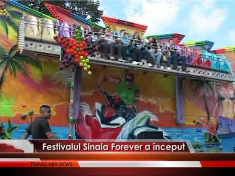Festivalul Sinaia Forever a început – VIDEO