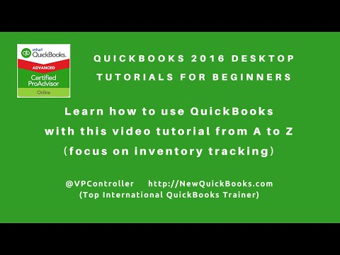 QuickBooks Desktop Tutorials for Beginners - perfect for product ...