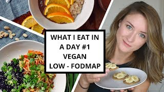 What I Eat In A Day #1 - Vegan & Low-FODMAP