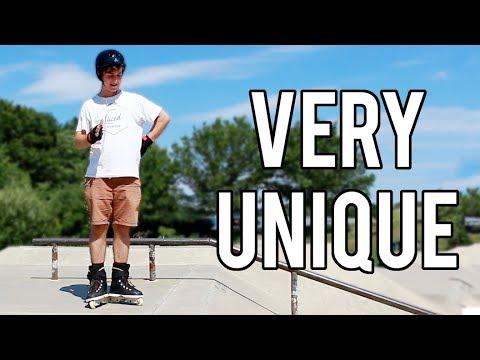 WEIRDEST SPINE EVER - Hampton Skatepark Review