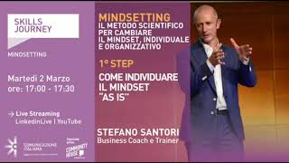 "Youtube: Skills Journey | MINDSETTING 1° Step: Come individuare il Mindset ""as is"""