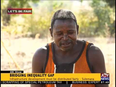 Bridging Inequality Gap - AM Show on JoyNews (20-9-18)