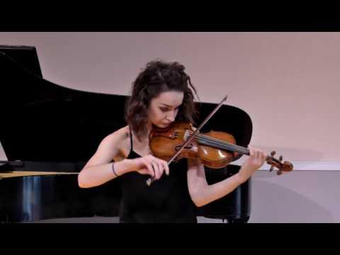 Bach, Johann Sebastian: Sonata No.3 in C major, BWV 1005 - IV. Allegro assai. Recorded 14 September 2017.