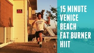 15 Minute Venice Beach Fat Burner HIIT Workout | The Body Coach by The Body Coach TV