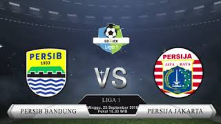 Live Streaming Indosiar, Laga Persib Bandung Vs Persija Jakarta Liga 1 2018 Pukul 15.30 WIB