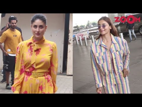 Kareena Kapoor at her shoot | Alia Bhatt snapped at the airport & more | Spotted
