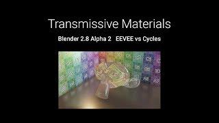 2 8] Blender Tutorial: Quick Glass in EEVEE - Самые лучшие видео