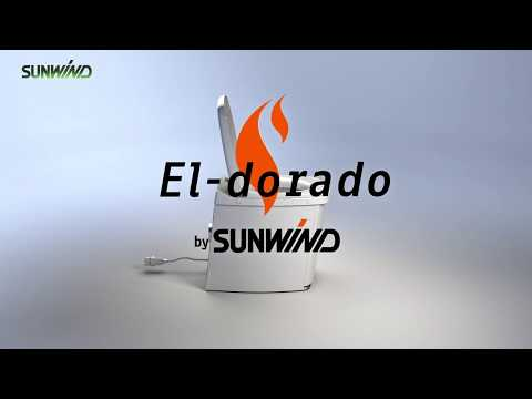 Förbränningstoalett Sunwind El-dorado