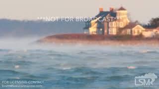 "01-21-19 Falmouth, MA ""Sea Smoke"" Frigid  Air Temperature 5 Degrees, Water Temperature 39 Degree"