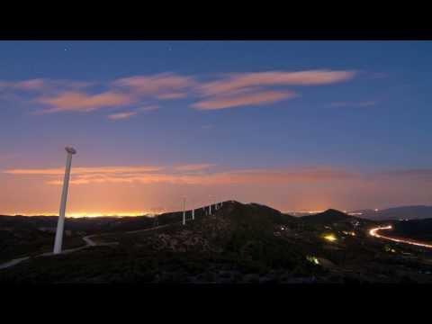 Máquinas del viento (timelapse)