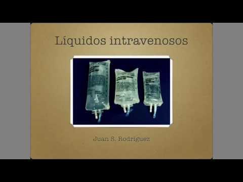 Líquidos intravenosos, cristaloides y coloides