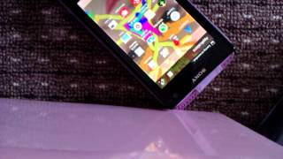 How to screen shot a Sony Xperia s