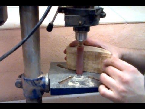 Spindelschleifer - Bau einer Schleifwalze für die Standbohrmaschine