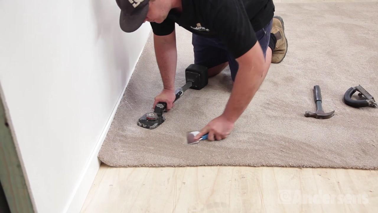 Expert Installation: Carpet