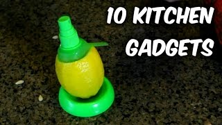 10 Kitchen Gadgets Test Part 2