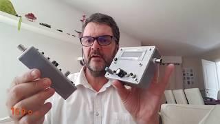 New QCX Morse Code Radio Transceiver On 30m.