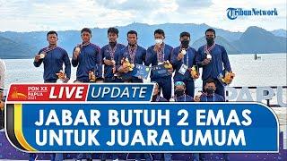 Hasil Klasemen Sementara PON XX Papua: Jawa Barat Butuh 2 Medali Emas Lagi untuk Jadi Juara Umum