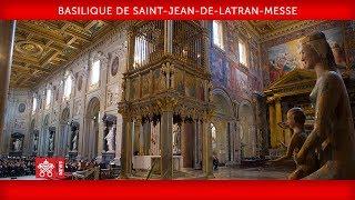 Pape François-Basilique de Saint-Jean-de-Latran Messe 2019-11-09