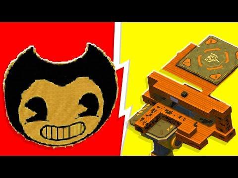 Bendy and the Ink Machine Maze Challenge - Scrap Mechanic   JeromeACE
