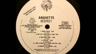 Anquette - Get Off Your Ass and Jam