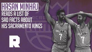 Hasan Minhaj Reads Sad Facts About the Sacramento Kings | The Ringer
