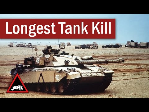 Longest Recorded Tank-on-Tank Hit | February 1991