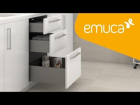Cómo montar un cajón Concept con cierre suave para cocina, baño, hogar o armario - Emuca