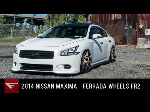 2014 Nissan Maxima | Ferrada Wheels FR2 Matte Bronze
