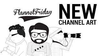Flannel Friday Background Speed Art (Week 5)