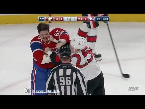 Andrew Shaw vs. Chris Neil