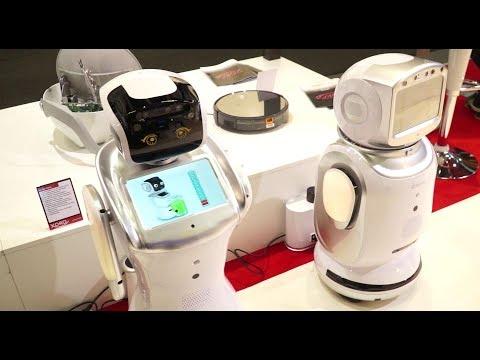 Xoro auf der IFA 2018 mit XORO PTL 1050 und Sanbot