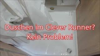 Clever Runner 636 #15 - Duschen im Kasten