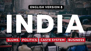 Real life in India, New Delhi | Indian caste system, politics, slums and business