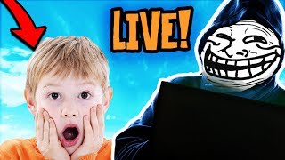 TROLLING KIDS IN DISCORD LIVE (ITS MY BIRTHDAY)