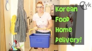 Korean Food Delivery