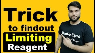 """Super Trick To Find Out """"LIMITING REAGENT""""   With Example   Mole Concept   By Arvind Arora"""