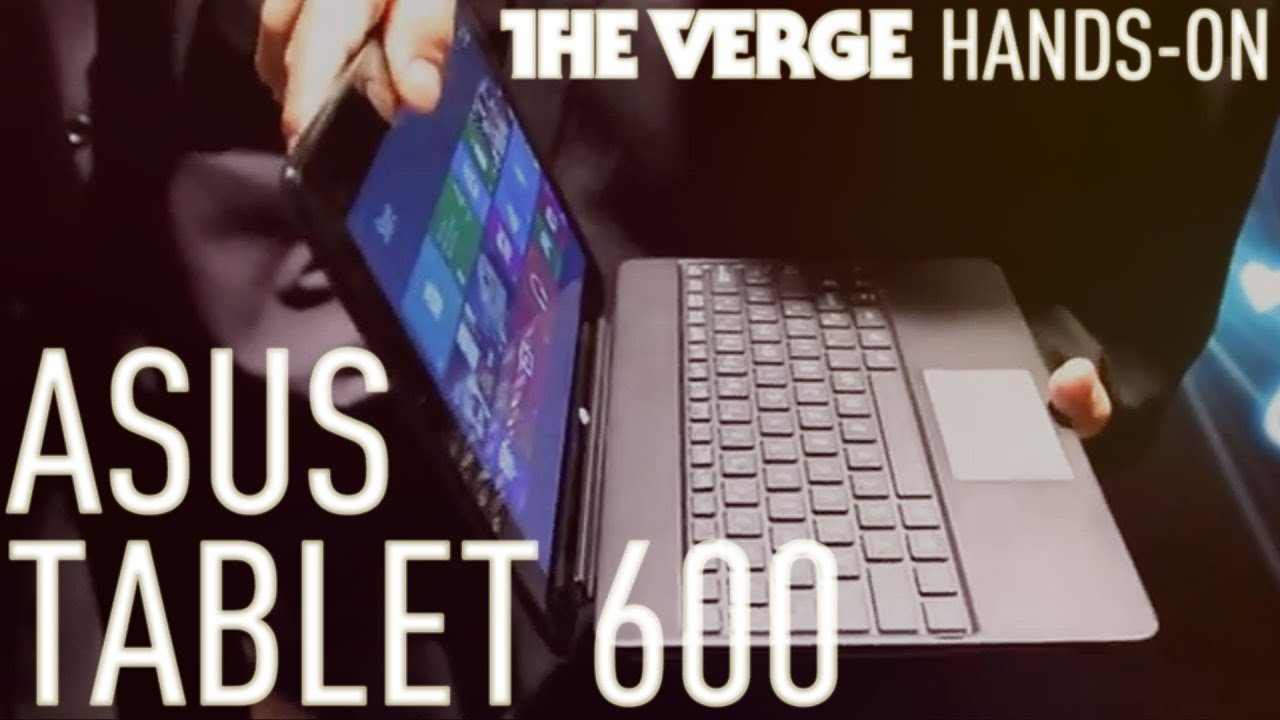 Asus Tablet 600 - Windows RT tablet hands-on thumbnail