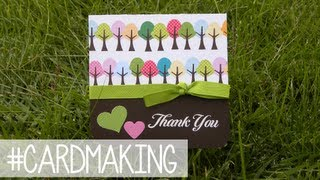 Thank u card - Tarjeta agradecimiento