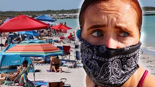 I Went To A Reopened Florida Beach thumbnail