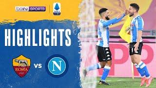 Roma 0-2 Napoli Pekan 28