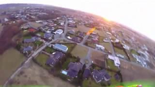 Ultimate sunset flight with my HD Racing drone