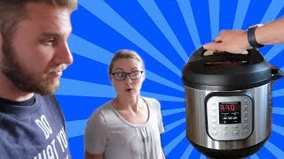LEARNING TO USE A PRESSURE COOKER WITHOUT INSTRUCTIONS (8.25.17)
