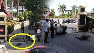 BREAKING NEWS: Mapolda Riau Diserang Diduga Teroris, Terdengar Suara Tembakan hingga Warga Panik