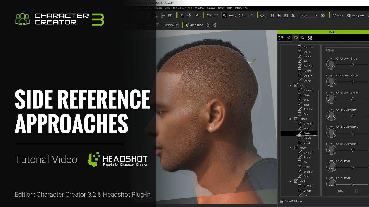 Headshot - Side Reference